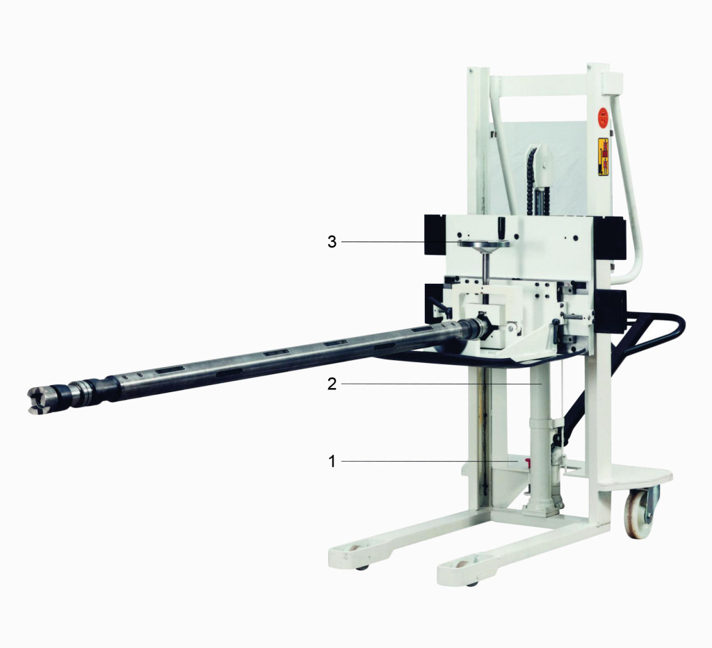 A.- Mobile manual Shaftpuller