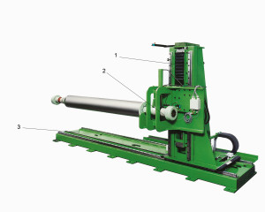 Stationary Shaftpuller with slideway