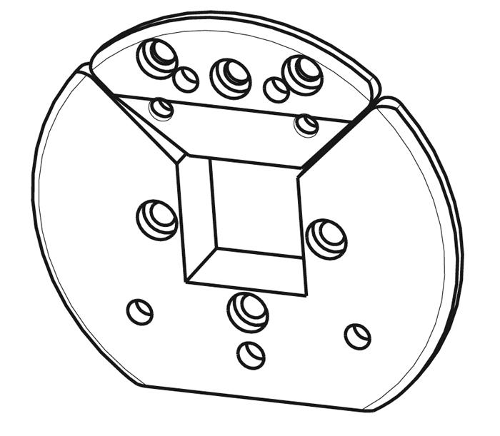 VT1 Vierkant