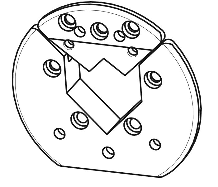 VT2 Vierkant